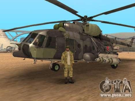 Pak ejército ruso de servicio para GTA San Andreas undécima de pantalla