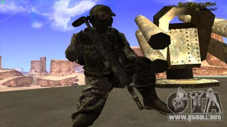 U.S. Navy Seal para GTA San Andreas octavo de pantalla