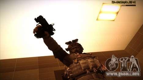 Sgt Keegan P.Russ из De Call of Duty: Ghosts para GTA San Andreas décimo de pantalla