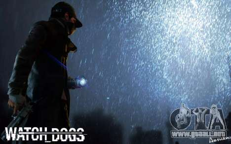 Arranque de las pantallas y menús de Watch Dogs para GTA San Andreas quinta pantalla