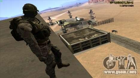U.S. Navy Seal para GTA San Andreas tercera pantalla