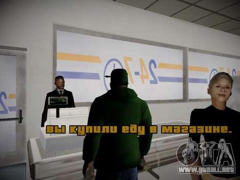 Journey mod by andre500 para GTA San Andreas sucesivamente de pantalla
