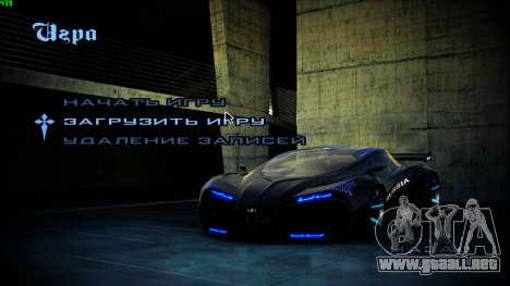 Nuevas pantallas de inicio para GTA San Andreas segunda pantalla
