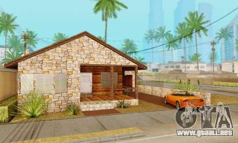 Nueva casa grande de Humo para GTA San Andreas segunda pantalla