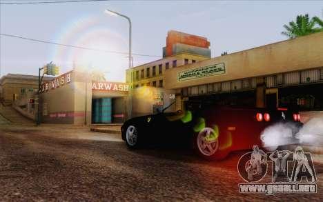 IMFX Lensflare v2 para GTA San Andreas tercera pantalla