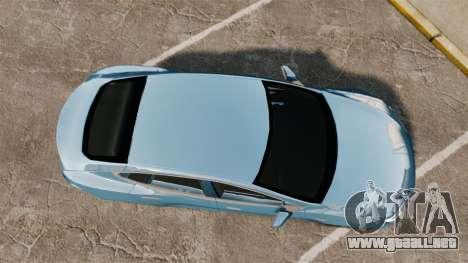 Tesla Model S para GTA 4 visión correcta