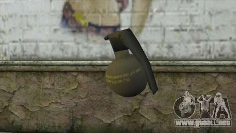 M-67 Grenade para GTA San Andreas