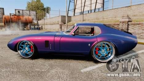 Shelby Cobra Daytona Coupe para GTA 4 left