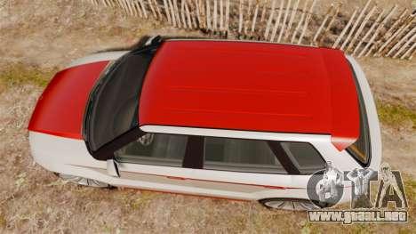 GTA V Enus Huntley S para GTA 4 visión correcta