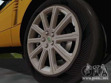 Range Rover Supercharged Series III para visión interna GTA San Andreas