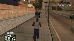 C-HUD By Kapo para GTA San Andreas