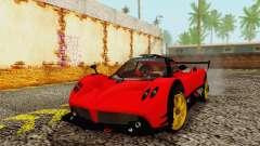 Pagani Zonda Type R Red