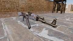 El AK-47 Blue Camo