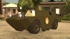 Los guardias de BRDM-2