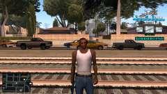 C-HUD RJ Aztecaz para GTA San Andreas