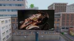 Nuevo de alta calidad de la publicidad en los carteles para GTA San Andreas