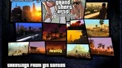 HD menús V.2.0 para GTA San Andreas