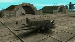C-47 Dakota RAF para GTA San Andreas