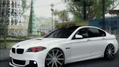BMW 550 F10 VOSSEN para GTA San Andreas