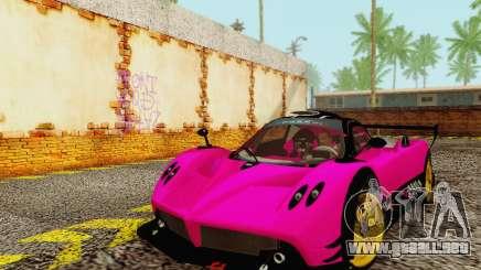 Pagani Zonda Type R Pink para GTA San Andreas