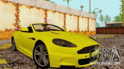 Aston Martin DBS Volante para GTA San Andreas