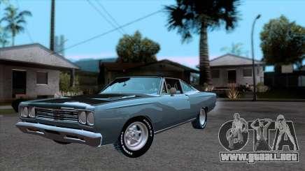 Plymouth Road RunneR 1969 para GTA San Andreas