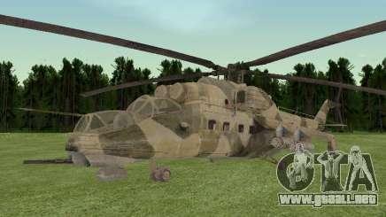 Mi-35M para GTA San Andreas