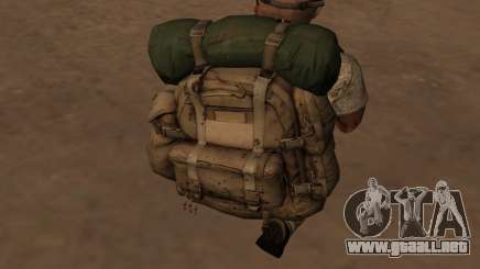 Рюкзак из MOH Warfighter para GTA San Andreas
