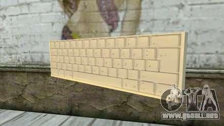 Tastatur Waffe para GTA San Andreas