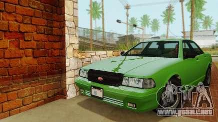 Vapid Stanier II 1.0 para GTA San Andreas