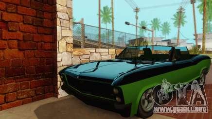 Gta 5 Bucanero actualizado para GTA San Andreas
