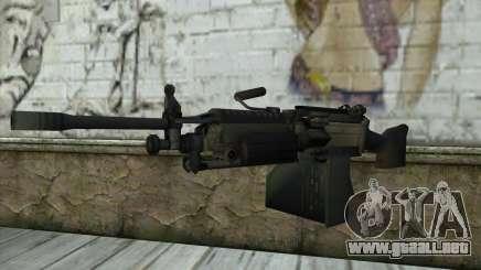 M249 SAW Machine Gun para GTA San Andreas