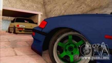 Honda cr-x, Turquía para GTA San Andreas