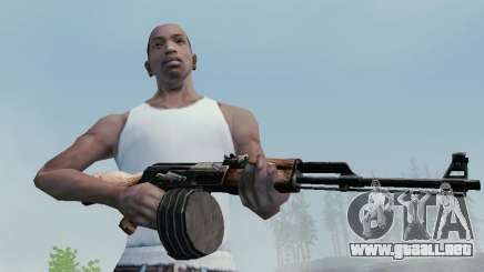 Kalashnikov Luz Ametralladora para GTA San Andreas