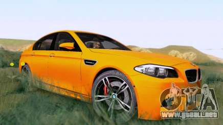 BMW F10 M5 2012 Stock para GTA San Andreas
