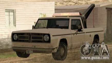 Nuevo Remolque (Sadler) para GTA San Andreas