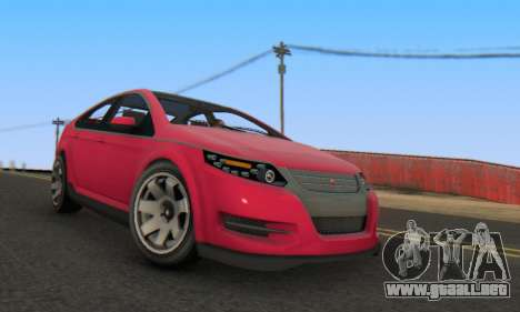 Cheval Surge V1.0 para la visión correcta GTA San Andreas