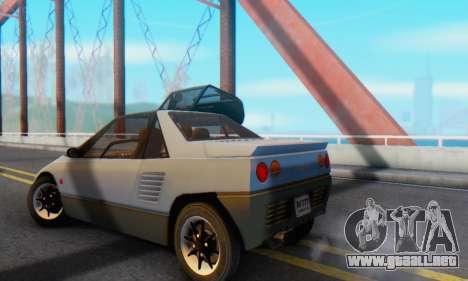 Mazda Autozam AZ-1 para la visión correcta GTA San Andreas