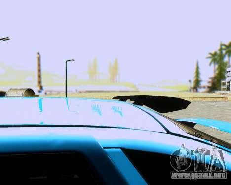 VAZ 2112 Sintonizable para GTA San Andreas vista posterior izquierda