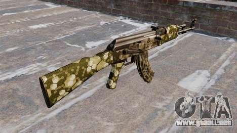 El AK-47 Hexagonal para GTA 4 segundos de pantalla