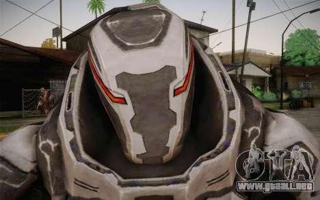 Robo Creed para GTA San Andreas tercera pantalla