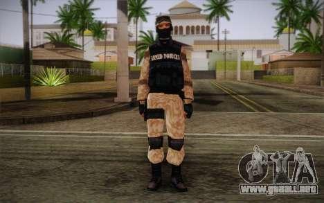 SWAT Desert Camo para GTA San Andreas