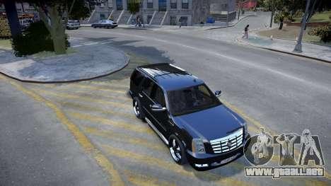 Cadillac Escalade para GTA 4 left