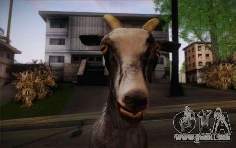 Cabra para GTA San Andreas tercera pantalla