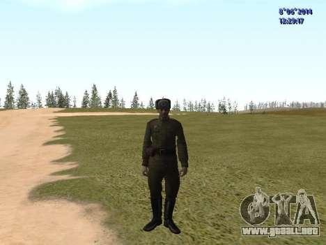 USSR Soldier Pack para GTA San Andreas sucesivamente de pantalla