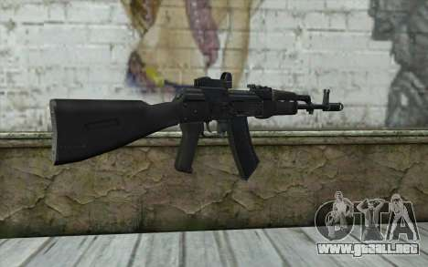 AK74M para GTA San Andreas segunda pantalla