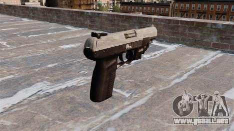 Pistola FN Five seveN LAM Camo ACU para GTA 4 segundos de pantalla