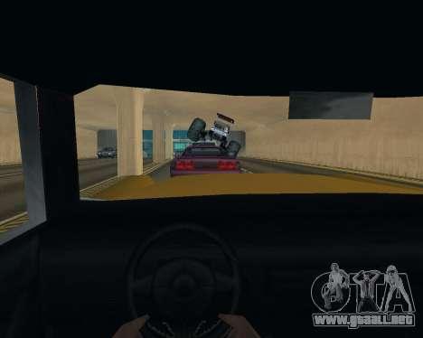 Caddy Monster Truck para visión interna GTA San Andreas