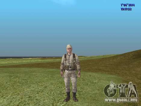 Afghanistan Soviet Soldiers para GTA San Andreas décimo de pantalla