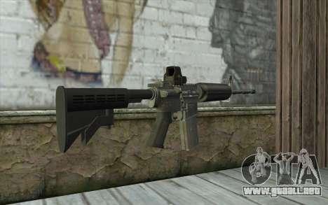 M4A1 Holosight para GTA San Andreas segunda pantalla